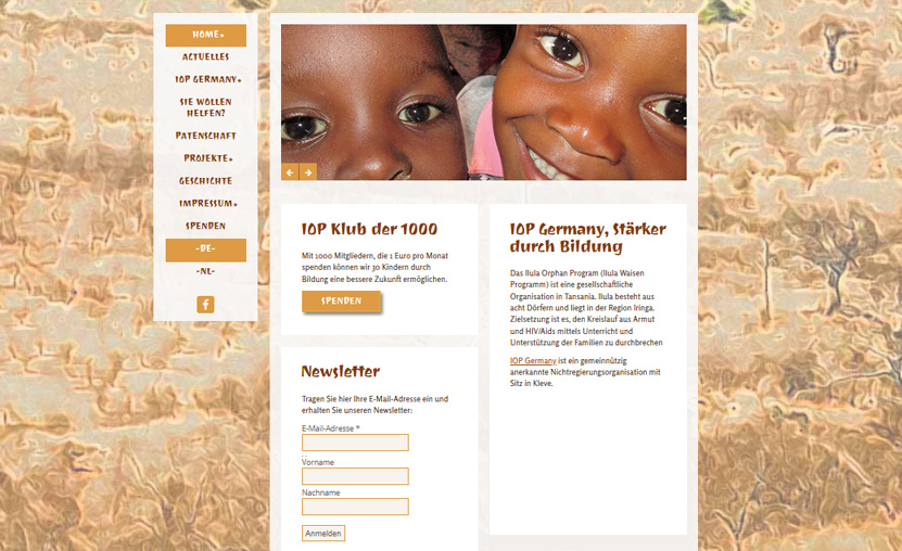 Website IOPGermany