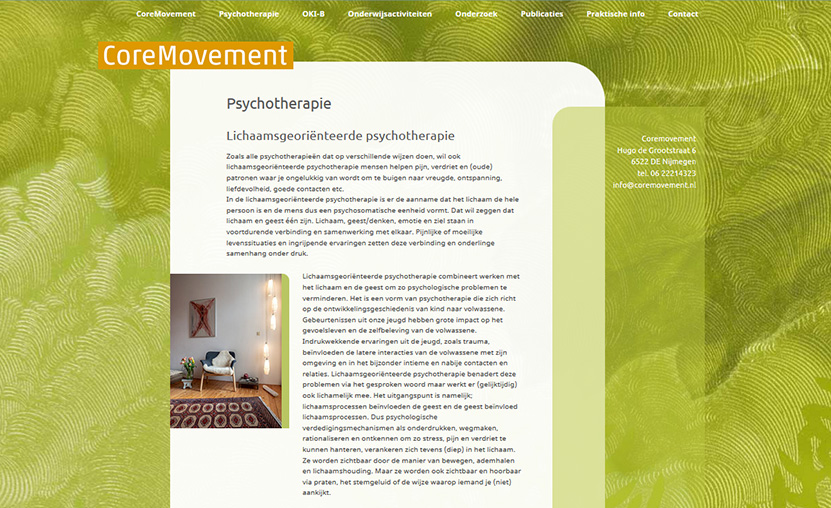 Website CoreMovement