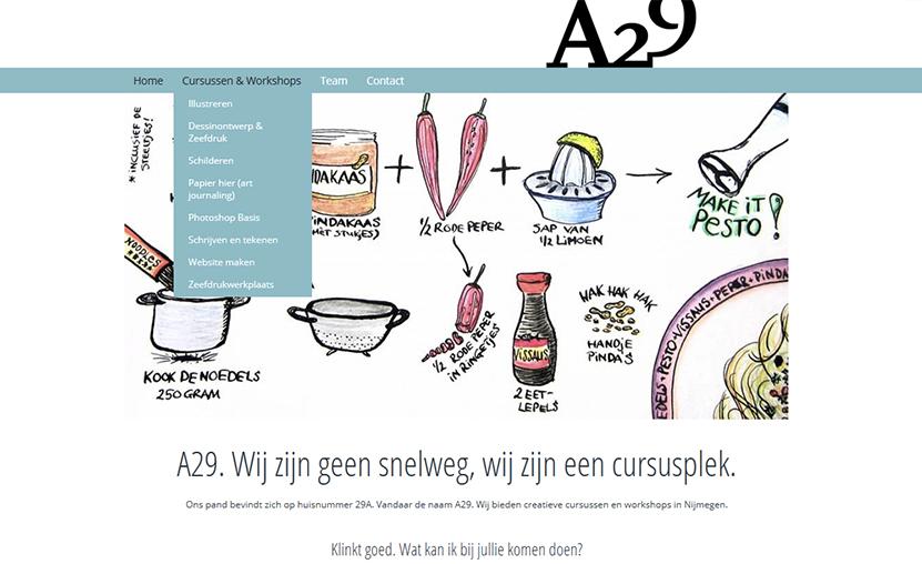 Website A29 Nijmegen